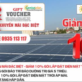 Lắp đặt điện mặt trời tại Đà Nẵng - Voucher giảm giá 10%
